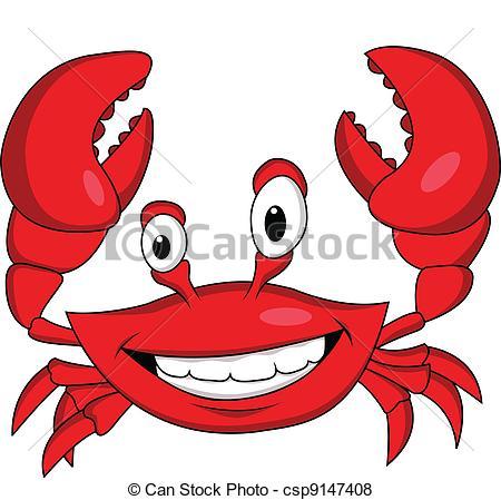 Illustration clipart crab Csp9147408 of Art cartoon Funny