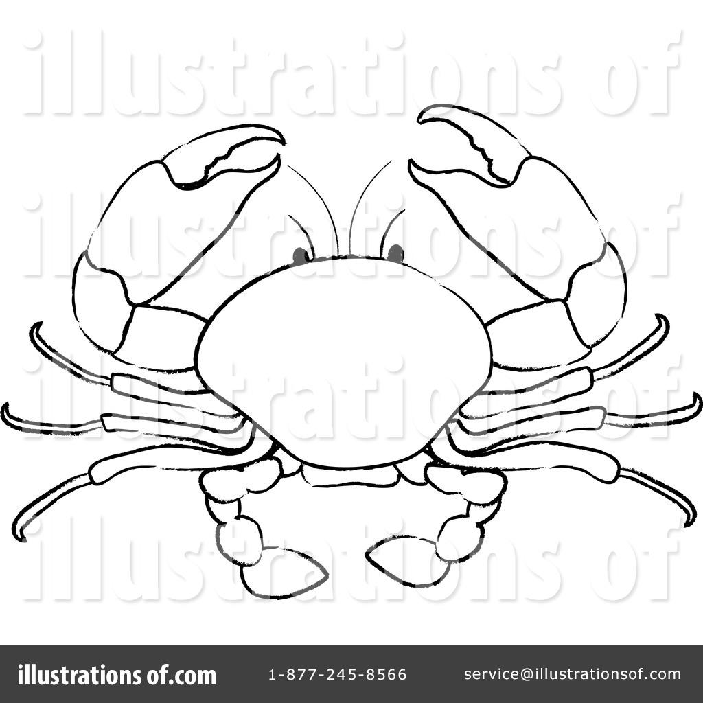 Illustration clipart crab Pams Clipart Illustration #100573 (RF)