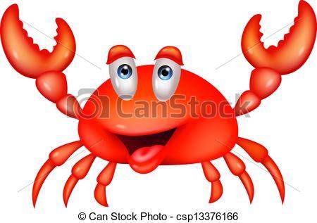 Illustration clipart crab  crab Art illustration cartoon