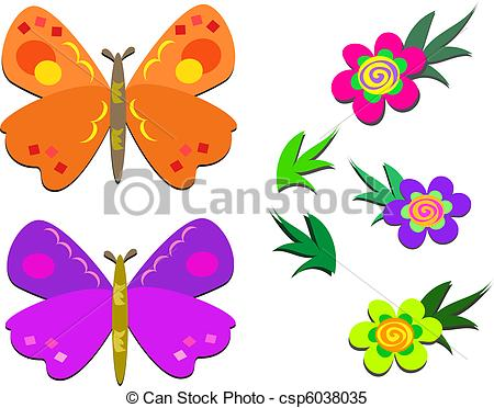 Illustration clipart cute flower Flowers Cute and and Flowers