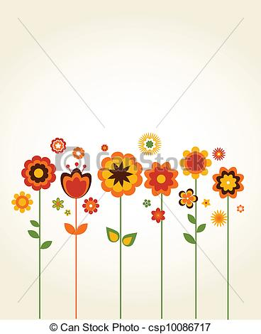 Illustration clipart cute flower With of card greeting card