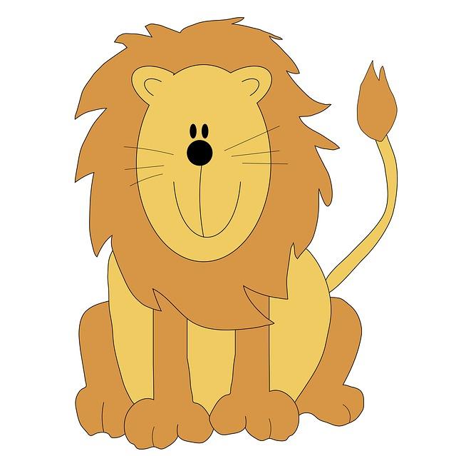 Illustration clipart cute lion Lion com Clipart Art Clipartion