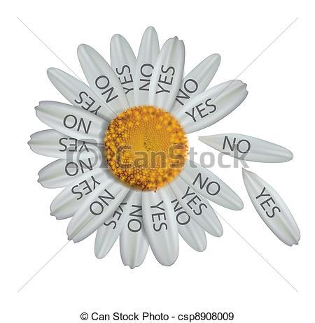 Illustration clipart daisy Csp8908009 EPS daisy concept Divine