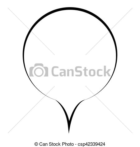 Illustration clipart dialogue Callout oval callout oval Vector
