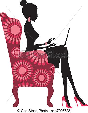 Illustration clipart fashion Fashion Vector csp7906738 on Blogger