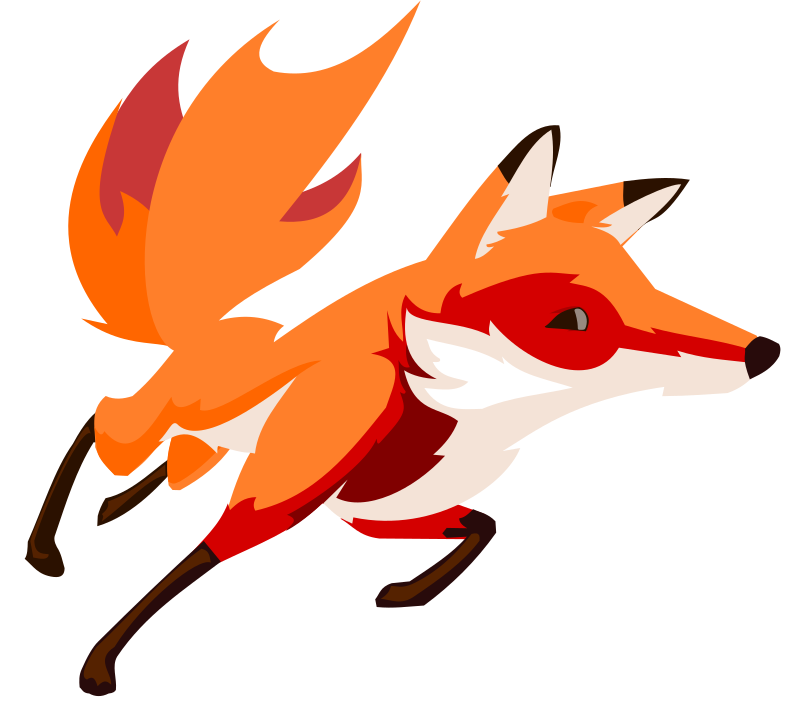 Illustration clipart fox You game book to websites