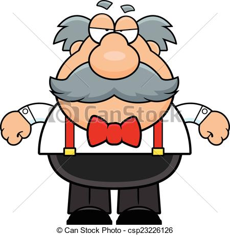 Illustration clipart grumpy man Cartoon Man Clipart Old Cartoon