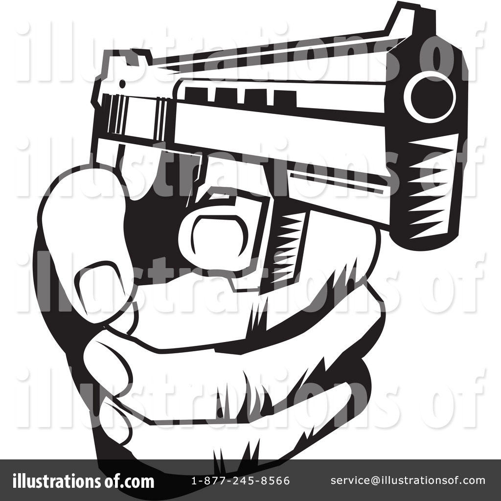 Rifle clipart weapon #5