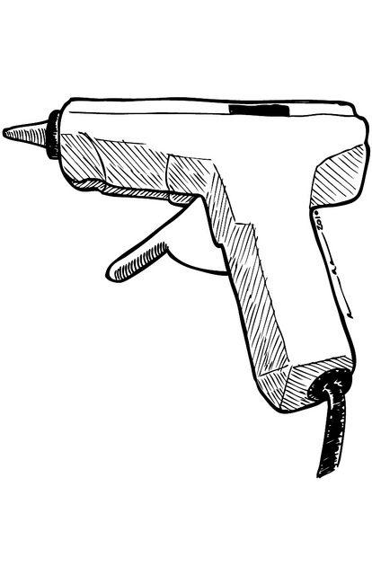 Illustration clipart gun Flickr on illustrations via by