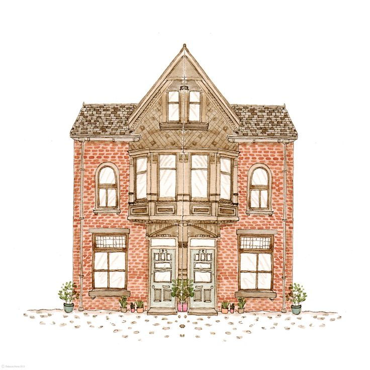 Illustration clipart hause Houses best 379 and Pin