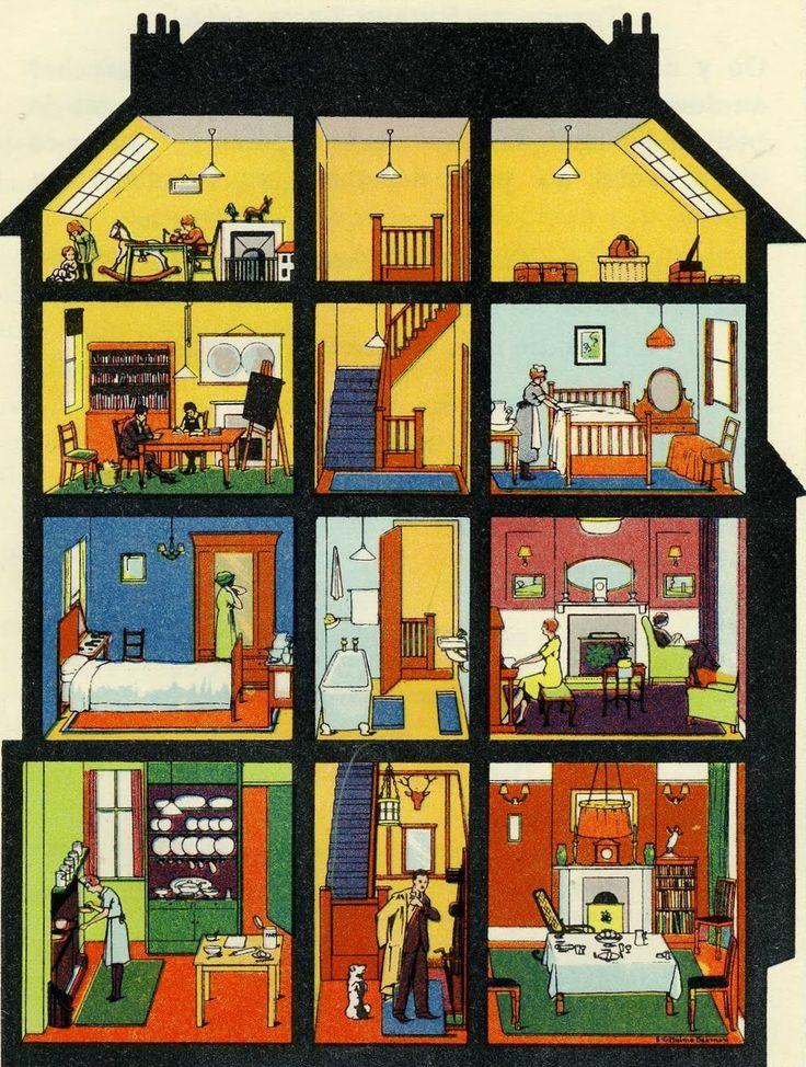 Illustration clipart hause Images aprons illustration 1930 clip