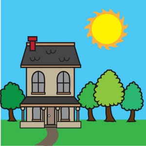 Illustration clipart hause Of with art  House