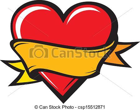 Illustration clipart heart Clip Tattoo Designs Art tattoo%20clipart