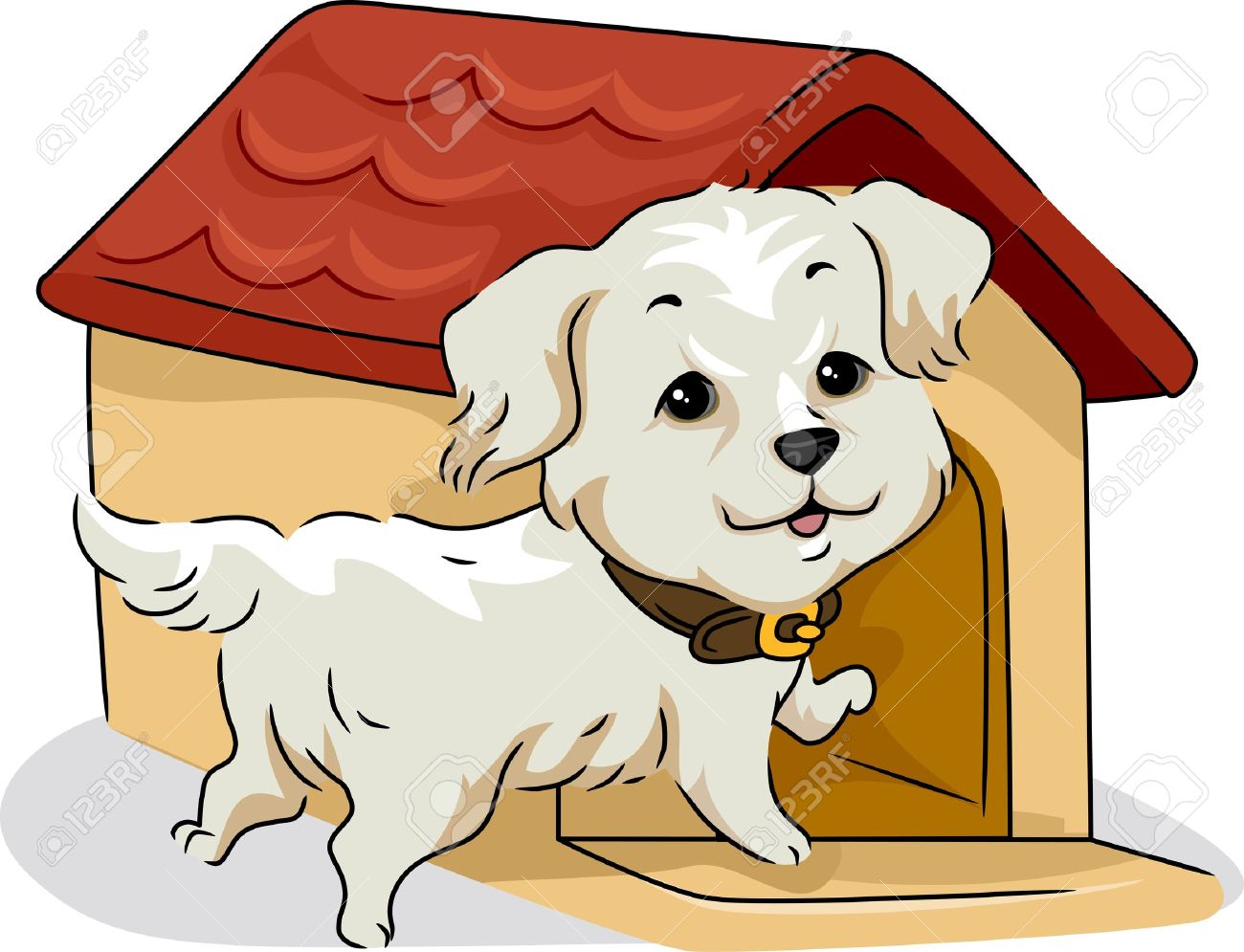 Illustration clipart home Collection Golden Retriever clipart Of