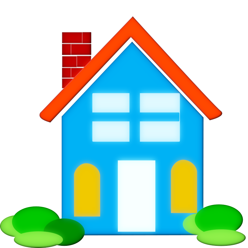 Bungalow clipart my house Free Pictures  Art #