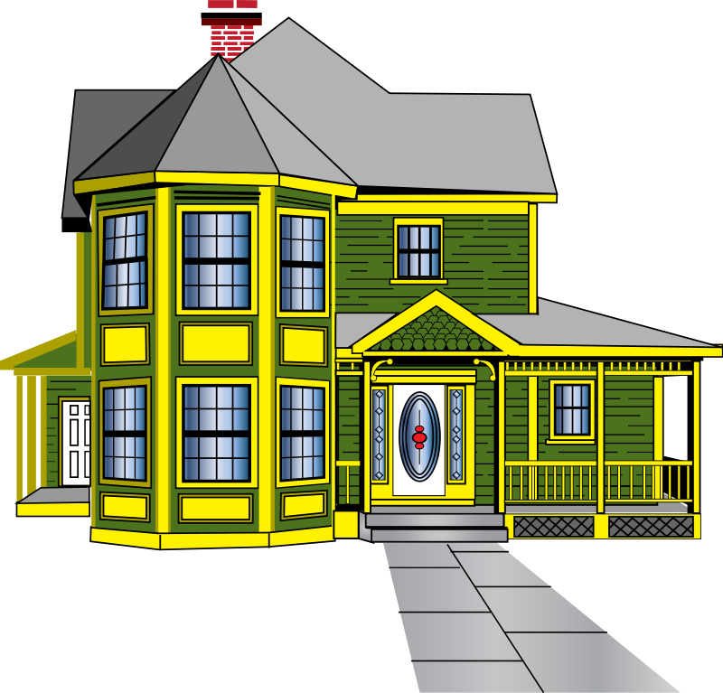 Pl clipart moving house #9