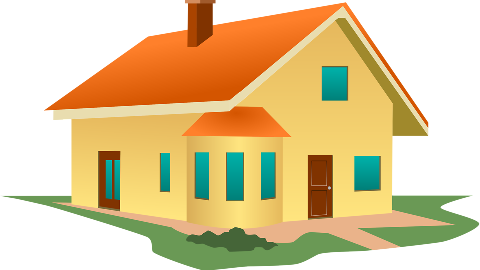 Villa clipart house background # House a 14938 Stock
