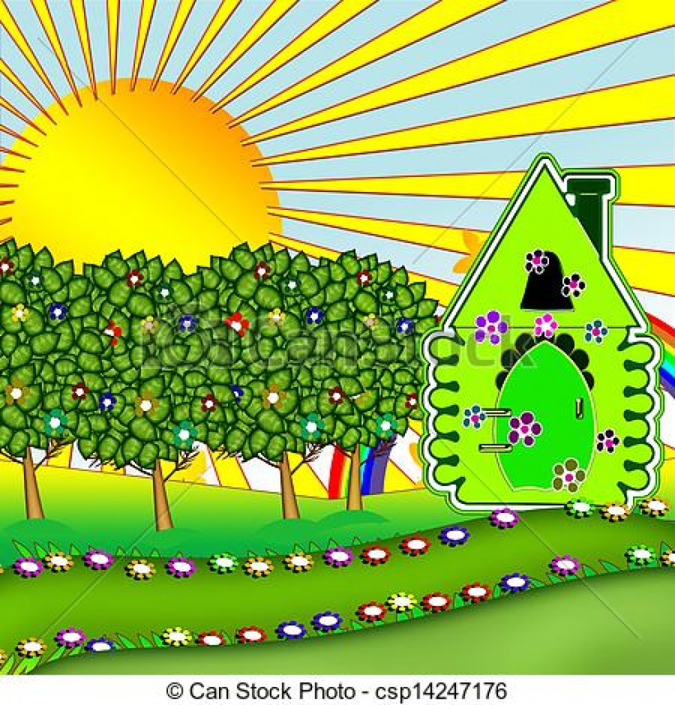 Relax clipart gardening #3