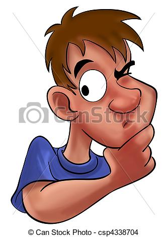Illustration clipart inquirer Inquirer inquirer inquirer Drawing boy