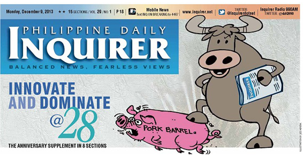 Illustration clipart inquirer Celebrates anniversary News Inquirer The