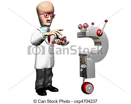 Illustration clipart inventor And 3 Art 215 Inventor
