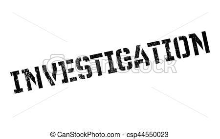 Illustration clipart investigation Csp44550023 stamp Grunge rubber Investigation