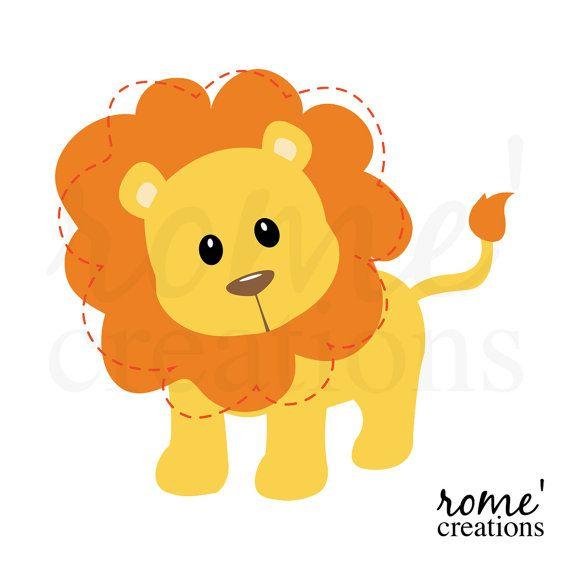 Illustration clipart jungle lion Clip Lion Lion Clipart Best