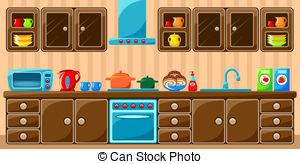 Illustration clipart kitchen Kitchen free and Illustrations