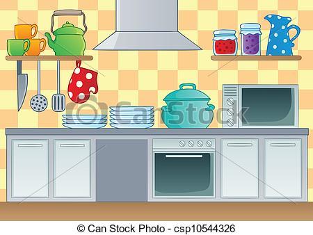 Illustration clipart kitchen Kitchen image illustration csp10544326 1