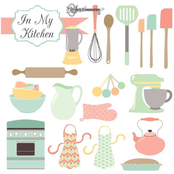 Illustration clipart kitchen Vectors Illustrations Market Illustrations Vectors