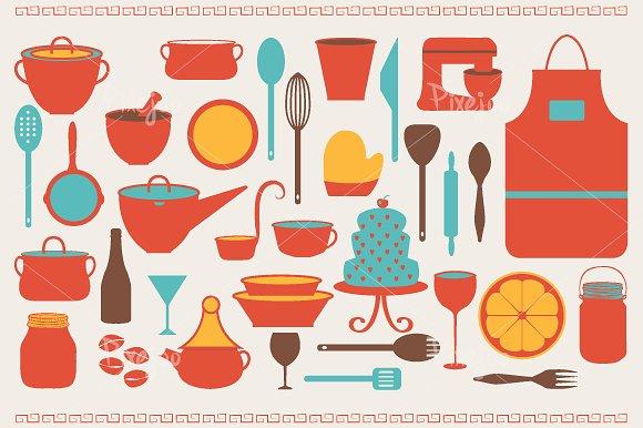 Illustration clipart kitchen Cliparts Illustrations Market Illustrations Cliparts
