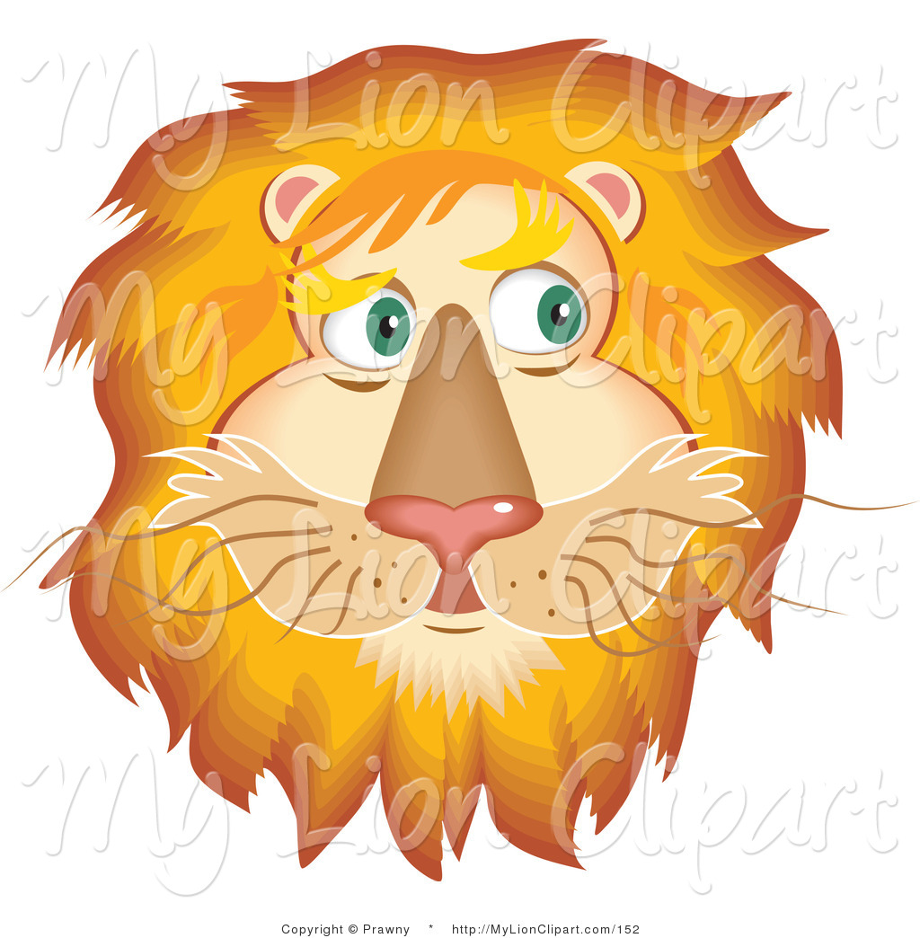 Illustration clipart lion mane Royalty Lion Free Stock Fluffy