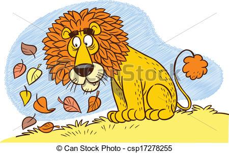 Illustration clipart lion mane The cartoon illustration a of