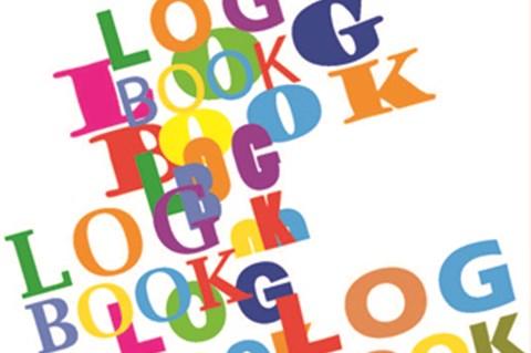 Illustration clipart log book Book Log