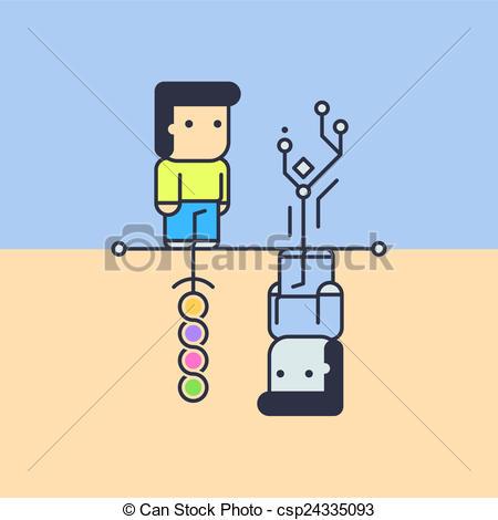 Illustration clipart logical Thinking thinking creative Illustration of
