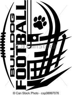 Illustration clipart logo Art bulldog stock royalty illustration