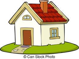 Illustration clipart maison White Illustrations Stock illustration a