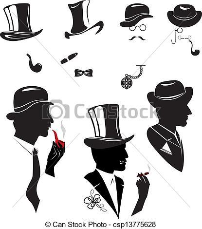 Cigar clipart smoking pipe Csp13775628 cigar Men smoking