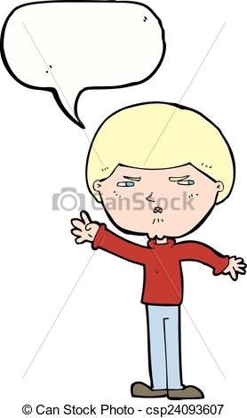 Illustration clipart mean man Csp24093607 bubble Clipart man with