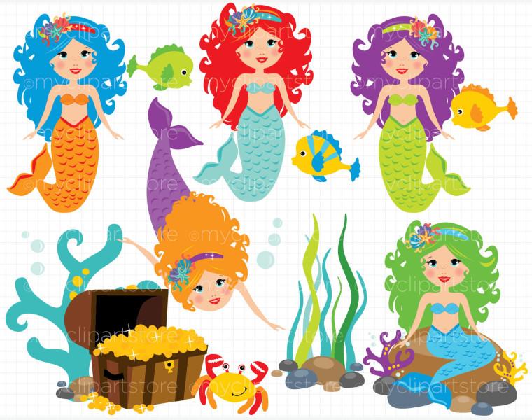 Mermaid clipart public domain Art Art Clip Clip For
