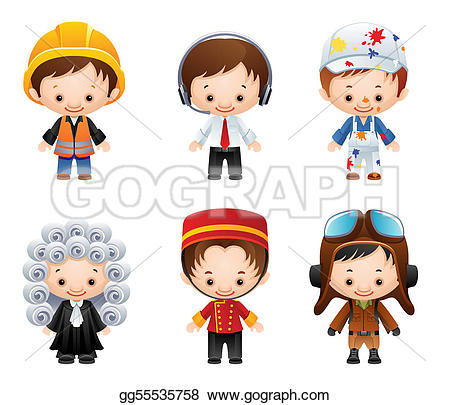 Illustration clipart occupation Illustration gg55535758 Clipart Occupation icons
