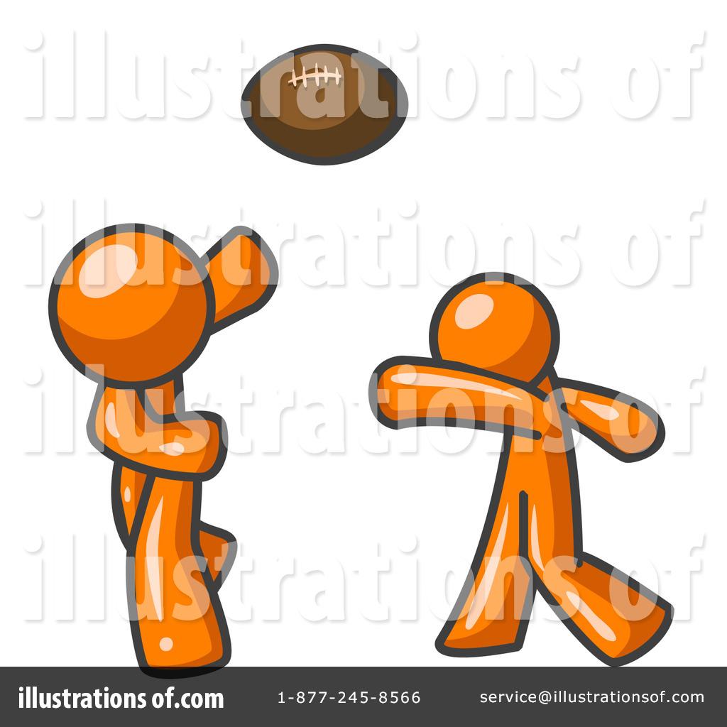 Illustration clipart orange man Leo Royalty Man by Clipart