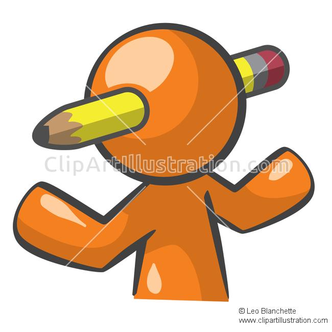 Illustration clipart orange person With Orange Man ClipArt