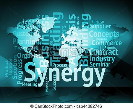 Illustration clipart partner work Synergy Meaning Synergy Partner Working