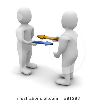 Illustration clipart partner work Clipart Illustration (RF) Jiri by
