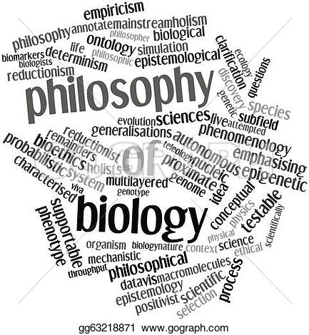 Illustration clipart philosophy Biology philosophy tags Drawing of