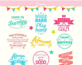 Illustration clipart philosophy Message / / Motivational Design