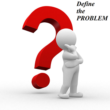 Illustration clipart problem definition Are Why  you Step