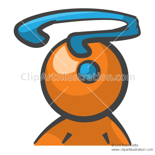 Illustration clipart question mark man And Illustration and ClipArt and