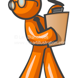 Illustration clipart record data Or Man Supervisor Clip Research